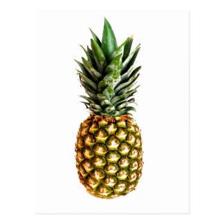 Pineapple fruit print postcards