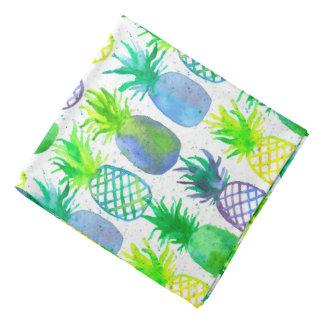Pineapple Fruit Watercolor Bandana