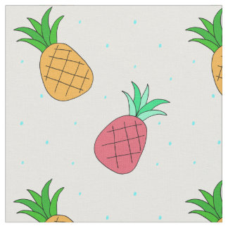 Pineapple Fun Fabric