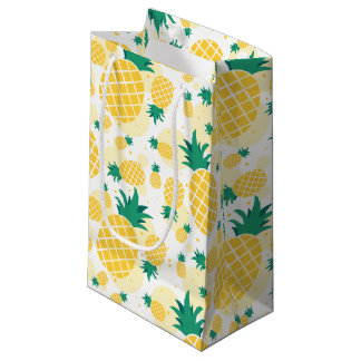 Pineapple Gift Bag - Small, Glossy