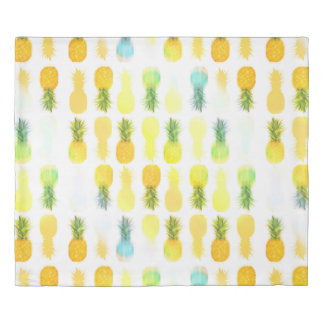 Pineapple Glow - King Duvet Cover