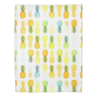 Pineapple Glow - Twin Duvet Cover