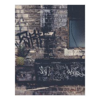 Pineapple Graffiti... Letterhead