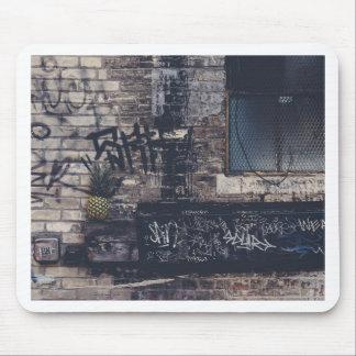 Pineapple Graffiti... Mouse Pad