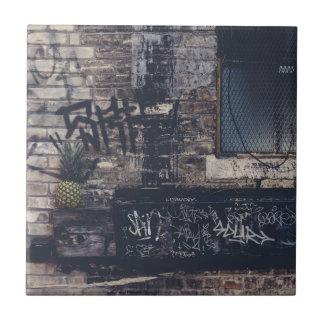 Pineapple Graffiti... Tile