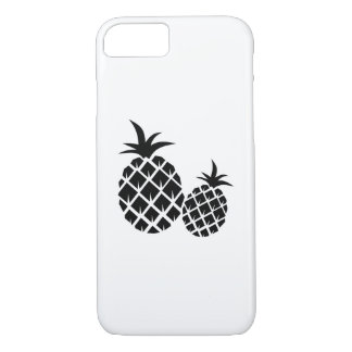 Pineapple Graphic Pattern iPhone 8/7 Case
