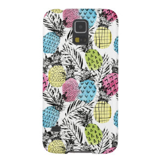 Pineapple Grunge Palms Case For Galaxy S5