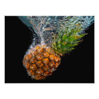 Pineapple in Water Photo