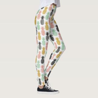 Pineapple Leggings yoga pants stretch leggings