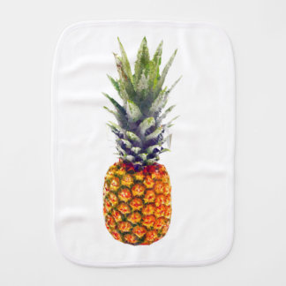 Pineapple Low-Poly Triangulated Burp Cloth