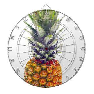 Pineapple Low-Poly Triangulated Dartboard