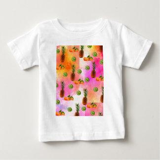 PINEAPPLE MANDARIN AND KIWI PATTERN BABY T-Shirt