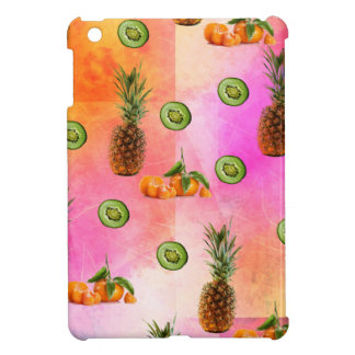 PINEAPPLE MANDARIN AND KIWI PATTERN iPad MINI CASES