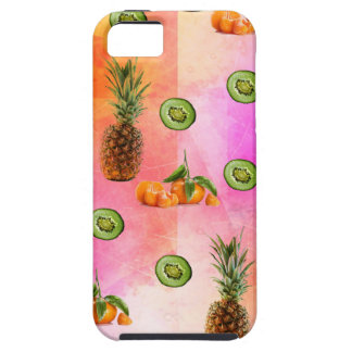 PINEAPPLE MANDARIN AND KIWI PATTERN iPhone 5 CASES