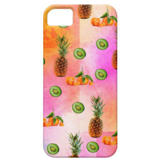 PINEAPPLE MANDARIN AND KIWI PATTERN iPhone 5 COVER