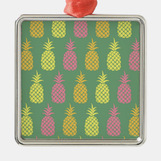 Pineapple Metal Ornament