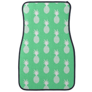 Pineapple Mint Pattern Car Liners
