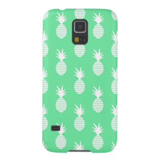 Pineapple Mint Pattern Case For Galaxy S5