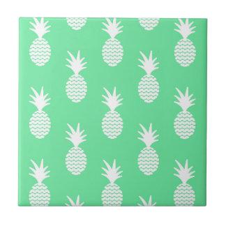 Pineapple Mint Pattern Tile