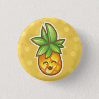 Pineapple^o^ 1 Inch Round Button