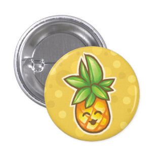 Pineapple^o^ Pinback Buttons