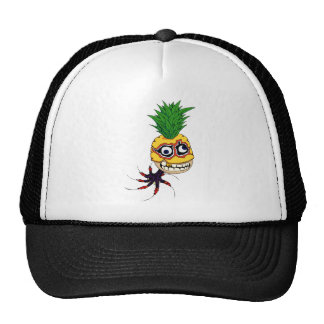 Pineapple Octopus Rocket Man, III Trucker Hat