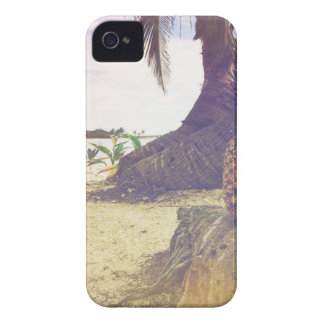 Pineapple On The Beach iPhone 4 Case
