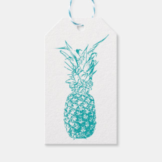 Pineapple Pack Of Gift Tags