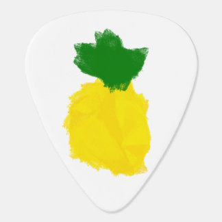 Pineapple Paint Guitar Pick