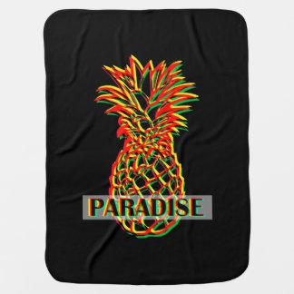 Pineapple Paradise Baby Blanket
