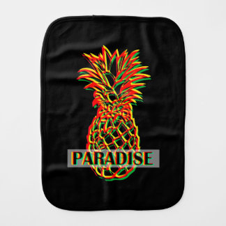 Pineapple Paradise Burp Cloth