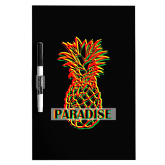 Pineapple Paradise Dry Erase Board