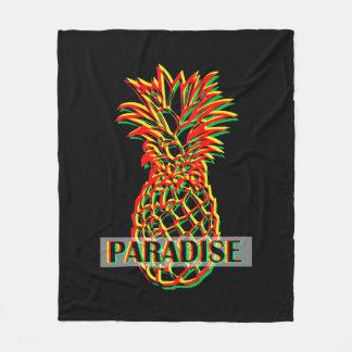 Pineapple Paradise Fleece Blanket