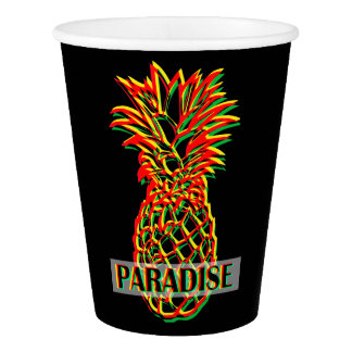 Pineapple Paradise Paper Cup