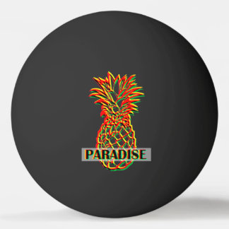 Pineapple Paradise Ping Pong Ball