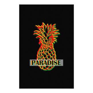 Pineapple Paradise Stationery