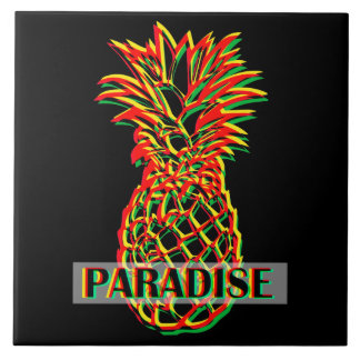 Pineapple Paradise Tile