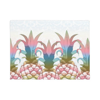 Pineapple Pastel Gradient ID246 Doormat