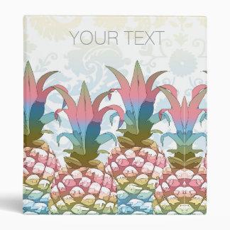 Pineapple Pastel Gradient ID246 Vinyl Binder
