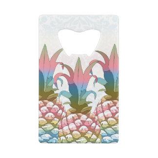 Pineapple Pastel Gradient ID246 Wallet Bottle Opener