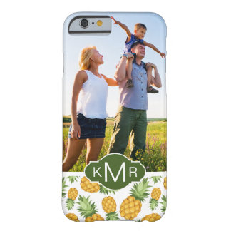 Pineapple Pattern | Add Your Photo Barely There iPhone 6 Case