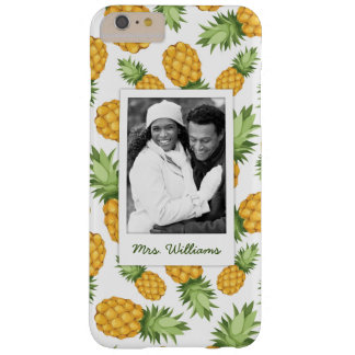 Pineapple Pattern | Add Your Photo Barely There iPhone 6 Plus Case