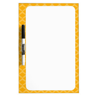 Pineapple Pattern Dry-Erase Whiteboard
