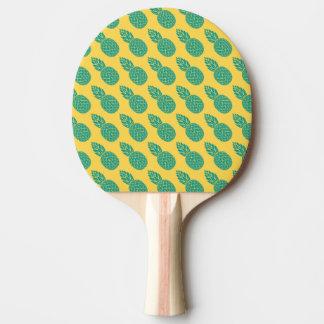 Pineapple Pattern Ping-Pong Paddle