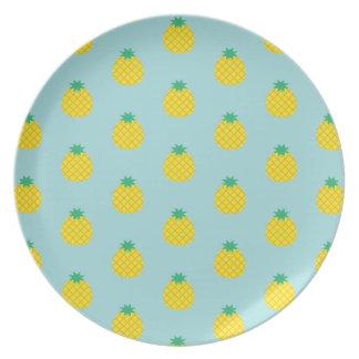 Pineapple Pattern Plate