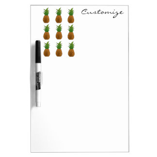 pineapple pattern  Thunder_Cove Dry Erase Board