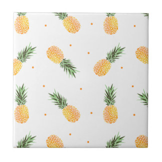 Pineapple Pattern Tile