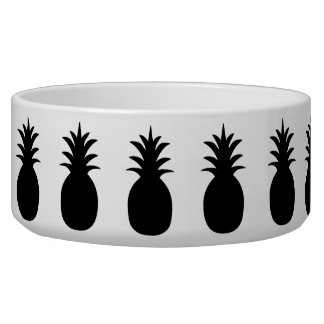 Pineapple Pet Bowl