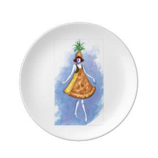 Pineapple Pie Plate
