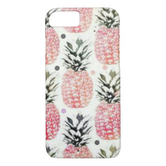 Pineapple pink iPhone 8/7 case